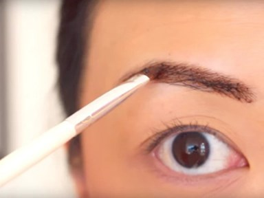 PSA: You can tint your brows with coffee and chocolate