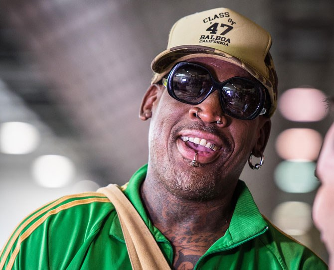 "**Dennis Rodman** NBA star Dennis Rodman voiced his support for the mighty Trump back in 2015 with his [tweet](https://twitter.com/dennisrodman/status/624651124545581056?ref_src=twsrc%5Etfw|target=""_blank"") '@realDonaldTrump has been a great friend for many years. We don't need another politician, we need a businessman like Mr. Trump! Trump 2016'."