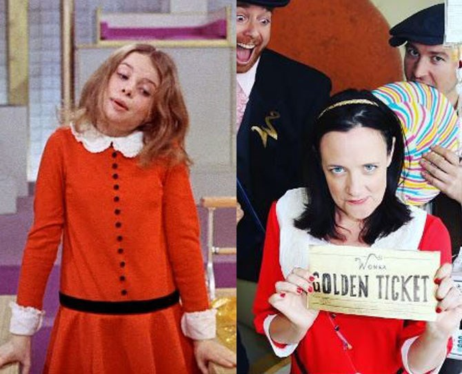 **5. Willy Wonka & The Chocolate Factory** This Veruca Salt costume deserves its own award, amiright?