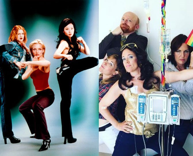 **10. Charlie's Angels** Yup, safe to say Karen's kicking life's ass, acting as an inspo for people around the world.