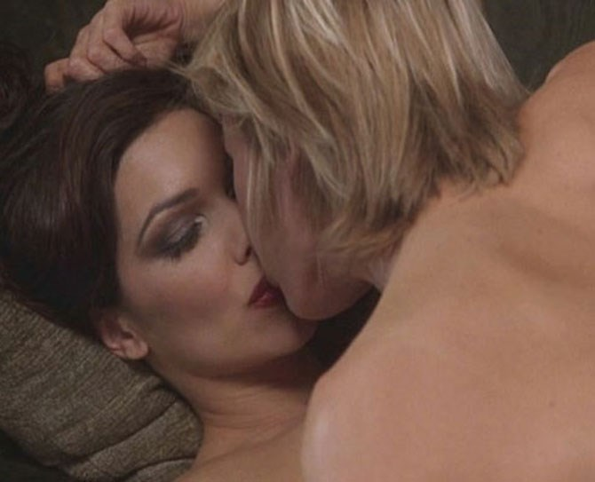 **7. Mulholland Drive** Naomi Watts and Laura Harring making passionate love is basically the most gorgeous, highest-end-girl-on-girl you'll ever see. End of story.
