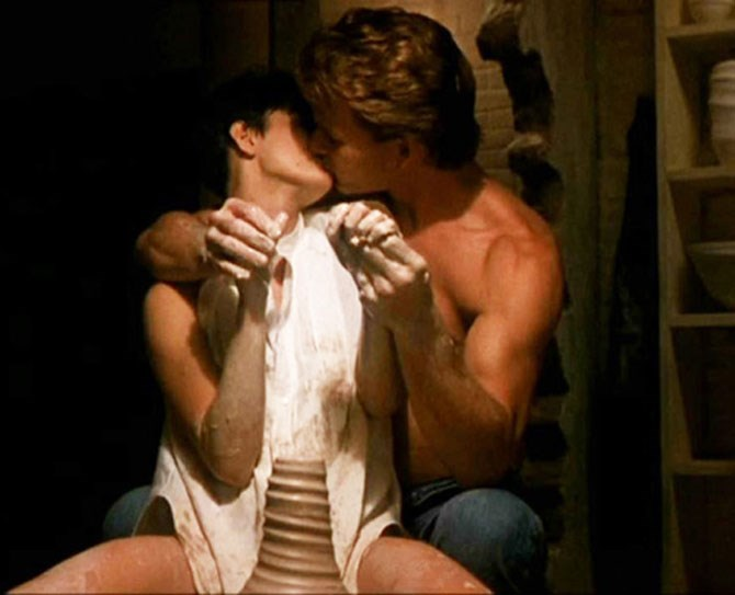 **12. Ghost** Yeah, we're back on Swayze. If his pottery wheel skillz are any indication, boy was he an amazing faux lover. Molly, you in danger of multiple orgasms, girl.