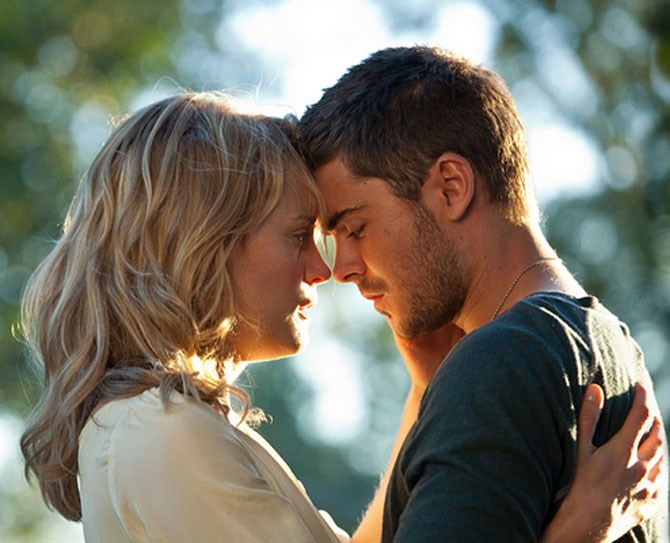 **13. The Lucky One** Classic Nicholas Sparks stuff here.