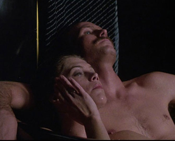 **19. Body Heat** This 1981 classic is one for the sex scene hall of fame with its literally steamy, sweaty, Floridian eff-fests between Kathleen Turner and William Hurt.