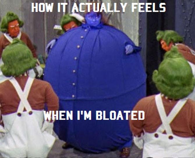 Like my body is a human water balloon.