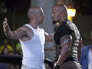 """Dwayne Johnson says his Fast and Furious male co-stars made his blood boil, calls them """"candy asses"""""""