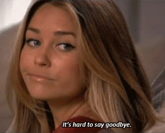 "**19. And on letting things go** Words to live by, LC. Source: [Cosmo UK](http://www.cosmopolitan.co.uk/entertainment/a45125/the-hills-classic-lauren-conrad-quotes/|target=""_blank"")"