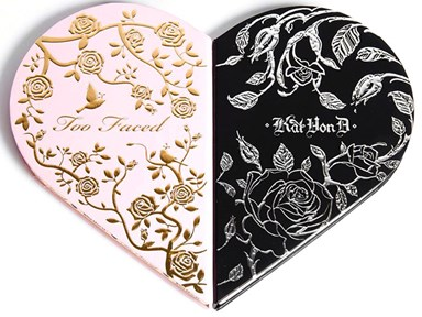 PSA: The inside of the Too Faced x Kat Von D palette is here and it's better than we'd dreamed!