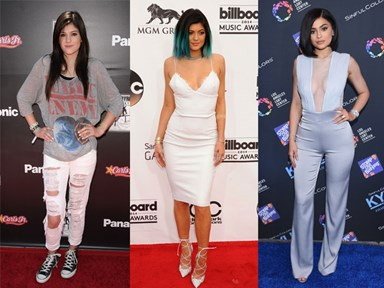 Kylie Jenner's style evolution is WOAH