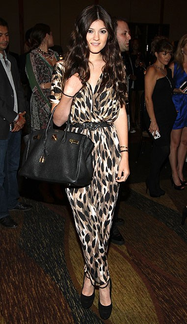 Then she discovered animal prints and made us all want a leopard jumpsuit. FYI, we *still* want this.