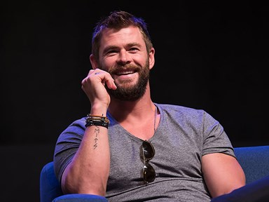 We have Chris Evans to thank for this awesome Chris Hemsworth blooper