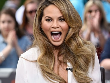 Chrissy Teigen gets real about her body, Snapchats a photo of her stretch marks