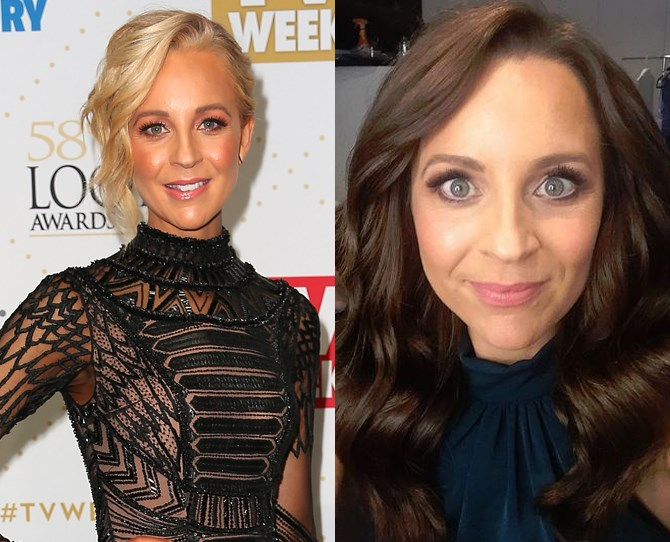 "Carrie Bickmore showed off her new brunette look on *The Project* tonight and it's all kinds of beautiful.  She posted on Instagram that it was her first colour change since she was 19, which probs has something to do with the fact that she's now a Garnier ambassador. What with announcing that she has raised over $1million for her [Beanies 4 Brain Cancer charity](http://carriesbeanies4braincancer.com/|target=""_blank"") last week, being up for a [Cosmopolitan Women of the Year Award](http://www.cosmopolitan.com.au/celebrity/women-of-the-year/2016/7/vote-now-cosmopolitan-women-of-the-year-2016/