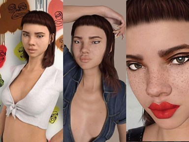 The Internet is divided over whether this Instagram girl is real or not