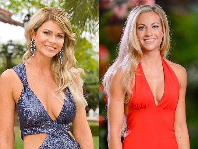 The Bachelor contestants Megan Marx and Tiffany Scanlon