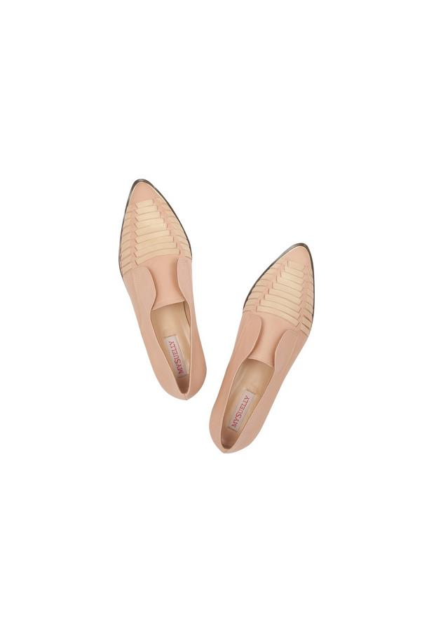 """Loafers, approx 195, My Suelly, <a href=""""http://www.theoutnet.com/en-AU/product/My-Suelly/Serge-stitched-leather-loafers/521411"""">theoutnet.com</a>"""