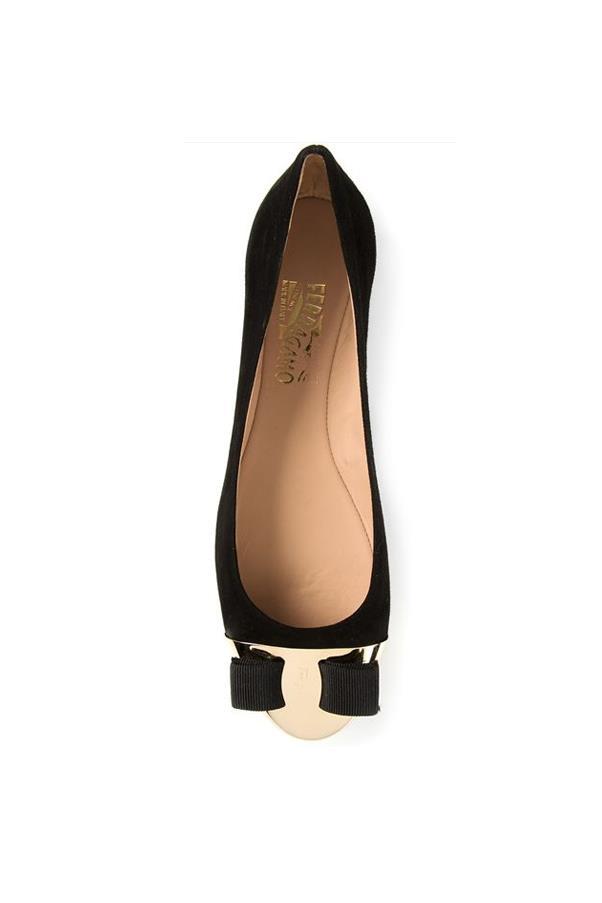 "Flats, approx $559, Salvatore Ferragamo, <a href=""http://www.farfetch.com/au/shopping/women/salvatore-ferragamo-varina-ballerinas-item-10808776.aspx?storeid=9475&ffref=lp_54_"">farfetch.com</a>"