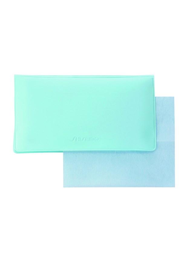 "Because in this context, shine is not your friend. <br><br> Blotting papers, $35, Shiseido, <a href=""http://shop.davidjones.com.au/djs/en/davidjones/oil-control-blotting-paper"">davidjones.com.au</a>"