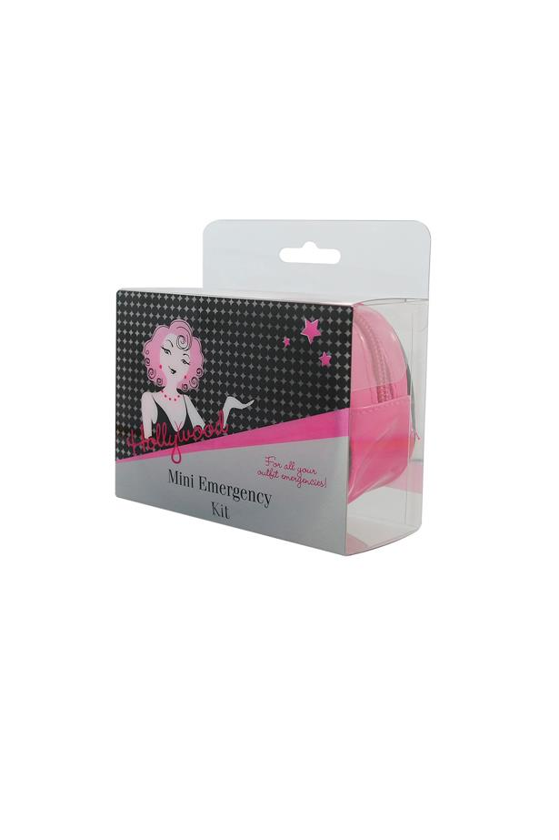 "This compact kid includes everything you need to avoid an outfit malfunction: fashion tape, stain and makeup removing wipes, a mini sewing kit, nipple covers (because nobody wants to see you on high beam), a hair elastic and blister soothers. <br><br> Hollywood Mini Emergency Kit, $14.95, <a href=""http://www.zodee.com.au/p39346-hollywood-mini-emergency-kit#.VDdeQvmSwdM"">zodee.com.au</a>"