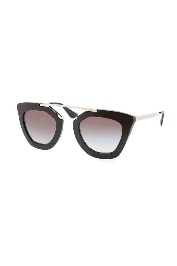 "Squinting ain't chic. Keep the glare away with a pair of stylish frames. <br><br> Sunglasses, approx $465, Prada, <a href=""http://www.neimanmarcus.com/en-au/Prada-Cat-Eye-Double-Bridge-Sunglasses-Black/prod175280413_cat45330747__/p.prod?icid=&searchType=EndecaDrivenCat&rte=%252Fcategory.jsp%253FitemId%253Dcat45330747%2526pageSize%253D120%2526No%253D0%2526refinements%253D&eItemId=prod175280413&cmCat=product"">neimanmarcus.com</a>"