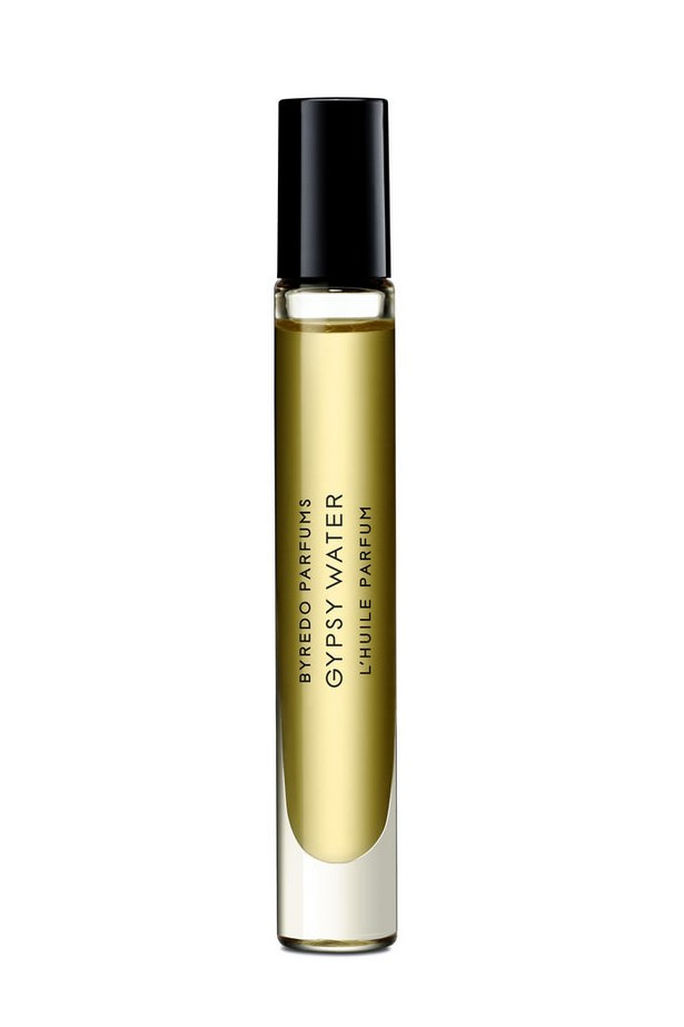 "Smell fresh all day by stashing a compact perfume pen in your clutch. <br><br> Gypsy Water roll on oil, $85, Byredo Parfums, <a href=""http://mecca.com.au/byredo-parfums/roll-on-oil-gypsy-water/I-017036.html"">mecca.com.au</a>"
