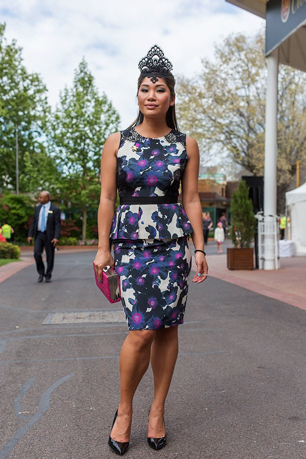 Lee Chan at the Caulfield Cup 2014 in Melbourne