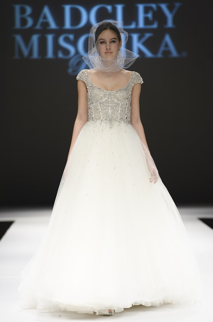 Badgley Mischka Bridal Fashion Week Autumn Winter 2015
