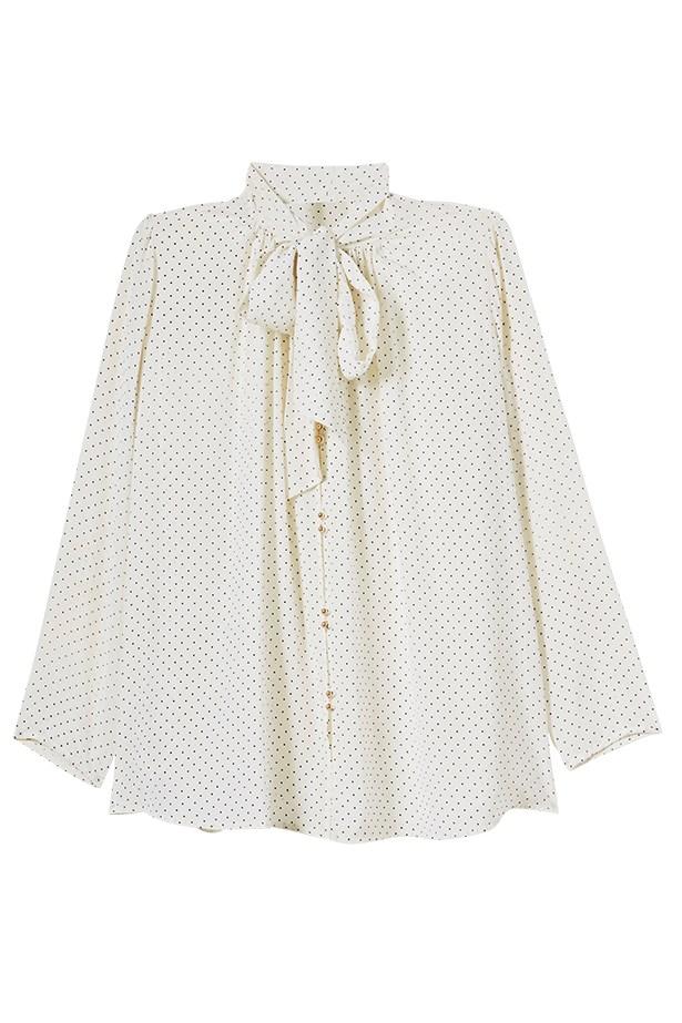 Blouse, $350, Zimmermann, zimmermannwear.com