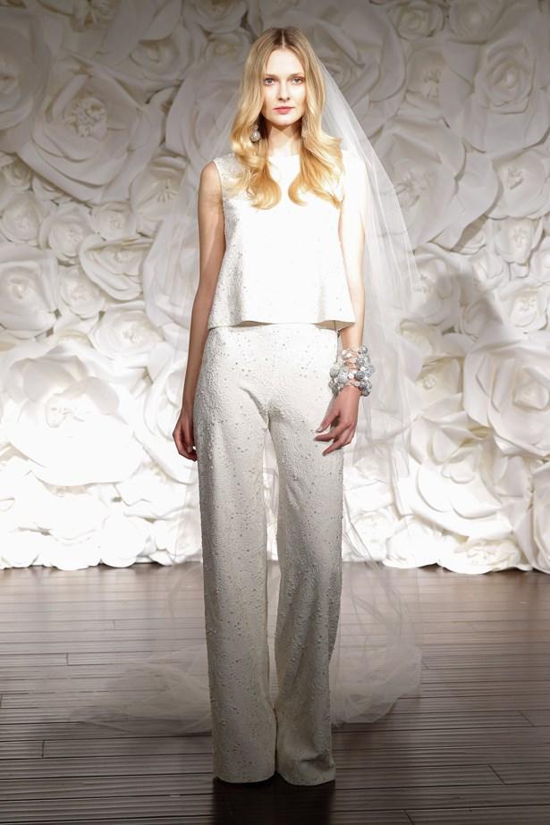 Wedding trend bridal fashion week separates