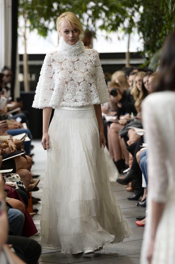 Delphine Manivet Bridal Fashion Week Autumn Winter 2015