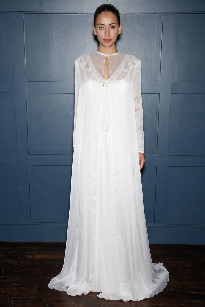 Temperley London Bridal Fashion Week Autumn Winter 2015