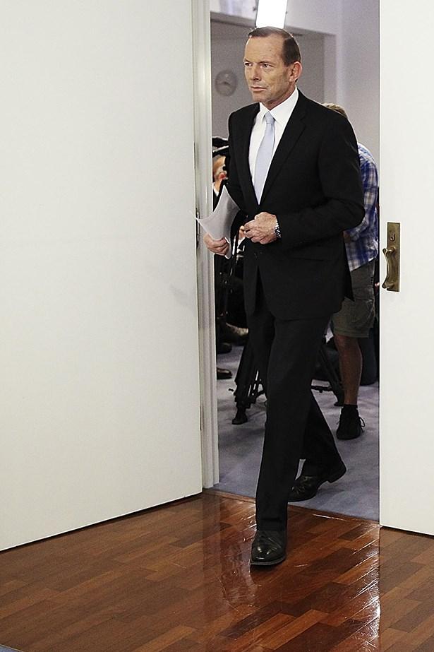 Tony Abbott WWD Man of the Week