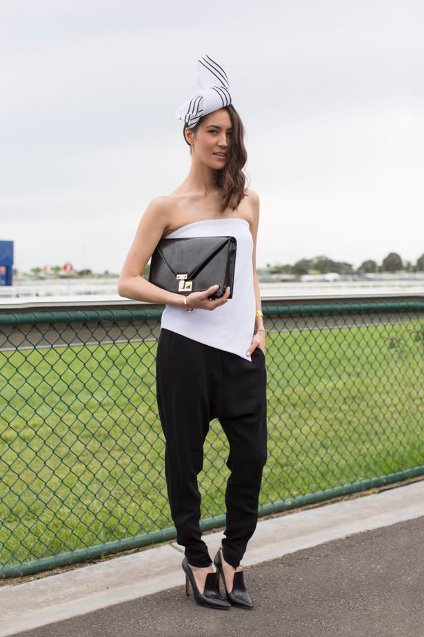 Emily Highfield the 2014 Caulfield Cup in Melbourne