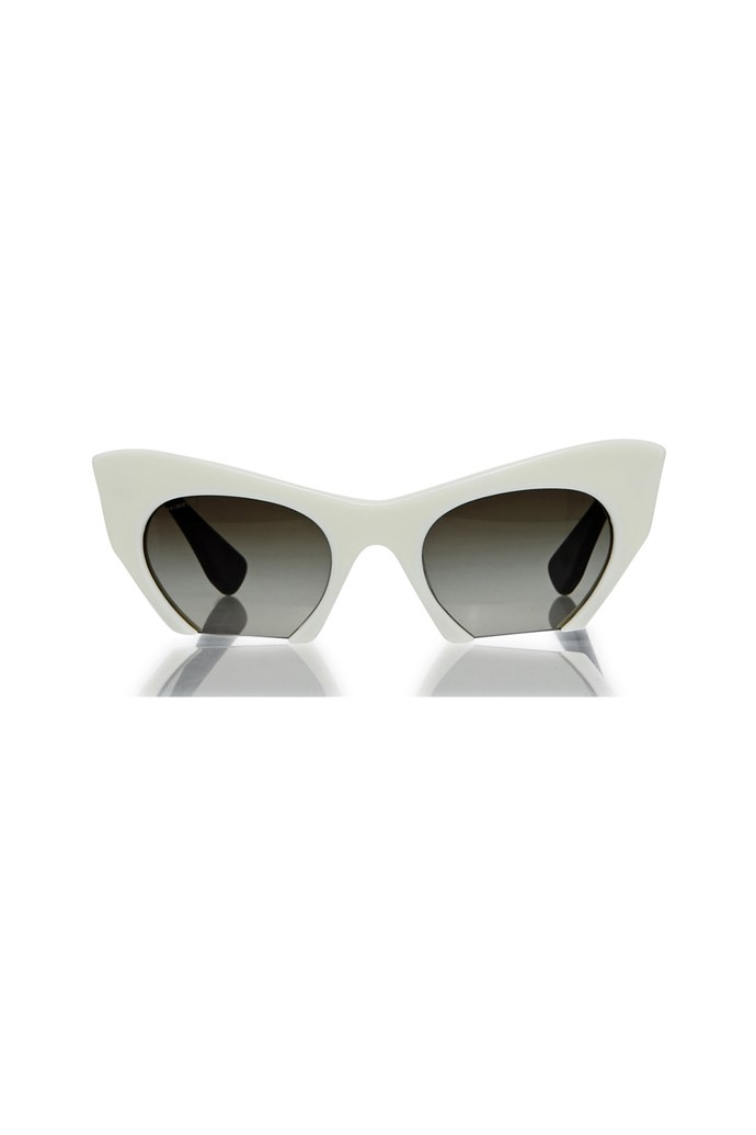 "Sunglasses, $440, Miu Miu, <a href=""http://www.greenwithenvy.com.au/product_details.php?id=MU10OI#"">greenwithenvy.com.au </a>"