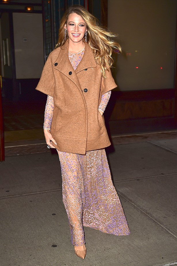 Blake Lively heading to the God's Love We Deliver Awards in New York