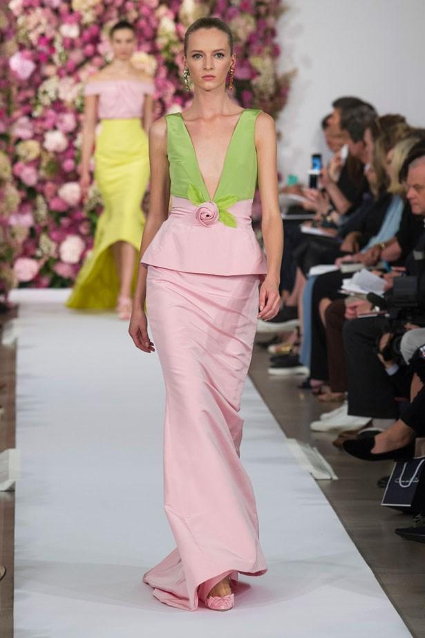 <strong> Designer: </strong> Oscar de la Renta <br> <strong>Collection: </strong> Spring/Summer 2015 <br> <strong> Location: </strong> New York Fashion Week