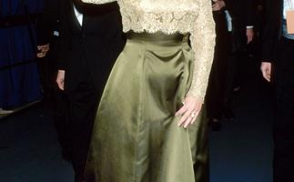 American First Ladies wearing Oscar de la Renta