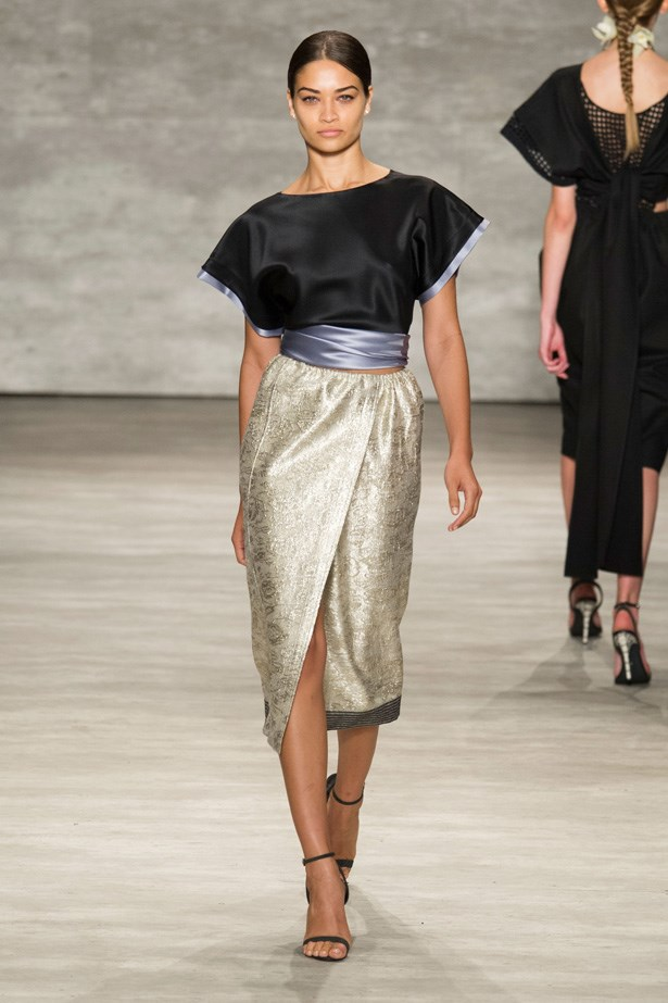 <strong>Designer:</strong> Tome <br> <strong> Collection:</strong> Spring/Summer 2015 <br> <strong>Location:</strong> New York Fashion Week