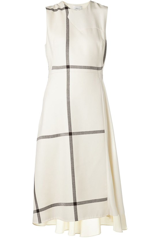 "Dress, $902, 3.1 Phillip Lim, <a href=""http://www.farfetch.com/au/shopping/women/31-phillip-lim-combo-panel-dress-item-10836728.aspx?storeid=9512&ffref=lp_421_ "">farfetch.com</a>"