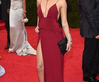 Zoe Krvitz on the red carpet