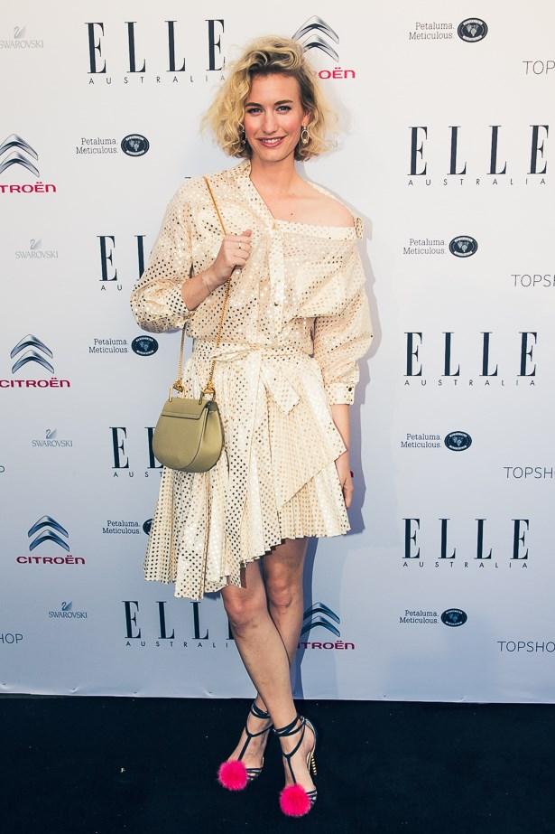 Zanita Whittington wearing Zimmermann