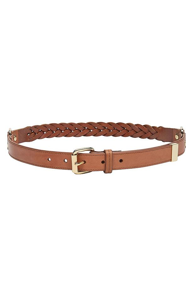 "Belt, $59.95, Witchery, <a href=""http://www.witchery.com.au/shop/woman/accessories/belts/plaited-belt-60172016"">witchery.com.au</a>"