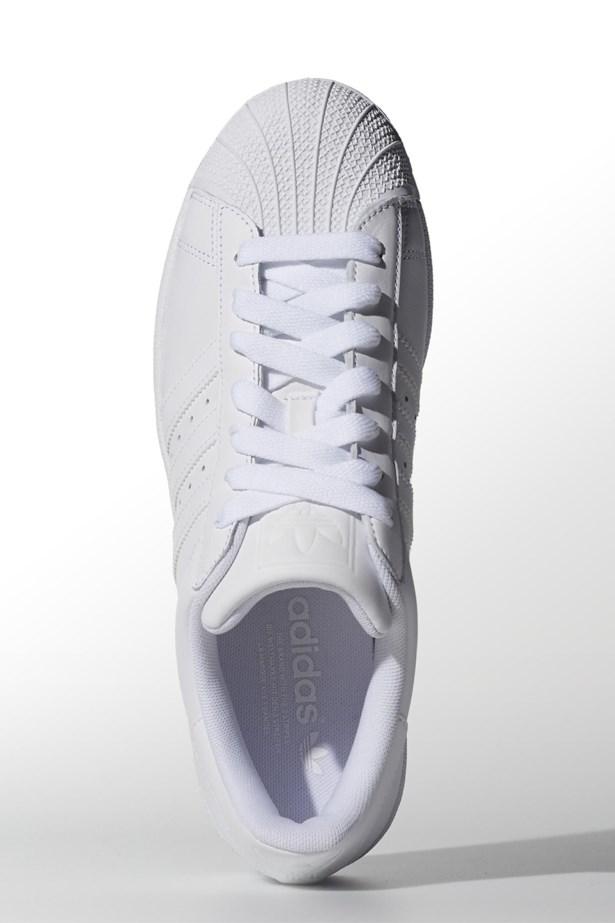"""Sneakers, $120, Adidas, <a href=""""http://www.adidas.com.au/superstar-2/G17071_630.html"""">adidas.com.au</a>"""