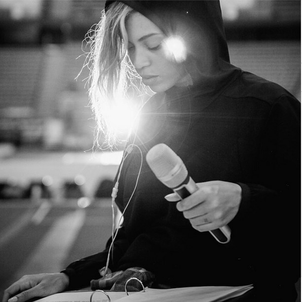 """<strong>5. Hoodies: </strong>Given her liking for high-end hoodies, we're expecting a luxe line of fleeces from Bey. <br><br> Image courtesy @beyonce via <a href=""""http://instagram.com/beyonce"""">Instagram</a>"""