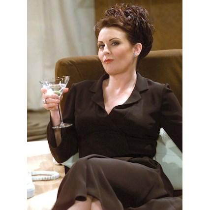 <strong>Karen Walker from <em>Will & Grace</em>:</strong><br> BYO gay BFF/politcal incorrectness.