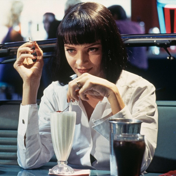 <strong>Mia Wallace from <em>Pulp Fiction</em>:</strong><br> God damn...