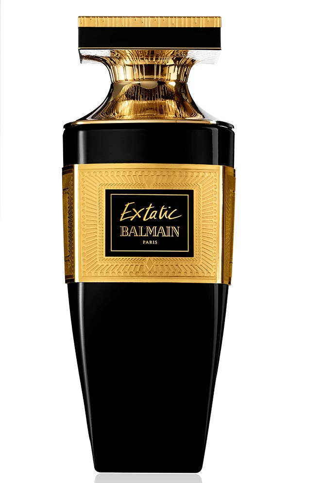 Extatic Intense Gold, $155 for 90ml EDP, Balmain, (02) 9695 5678