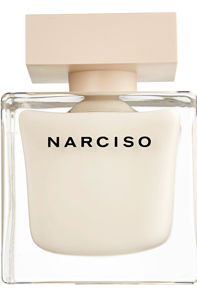 Narciso, $118 for 50ml EDP, Narciso Rodriguez, (02) 9695 5678