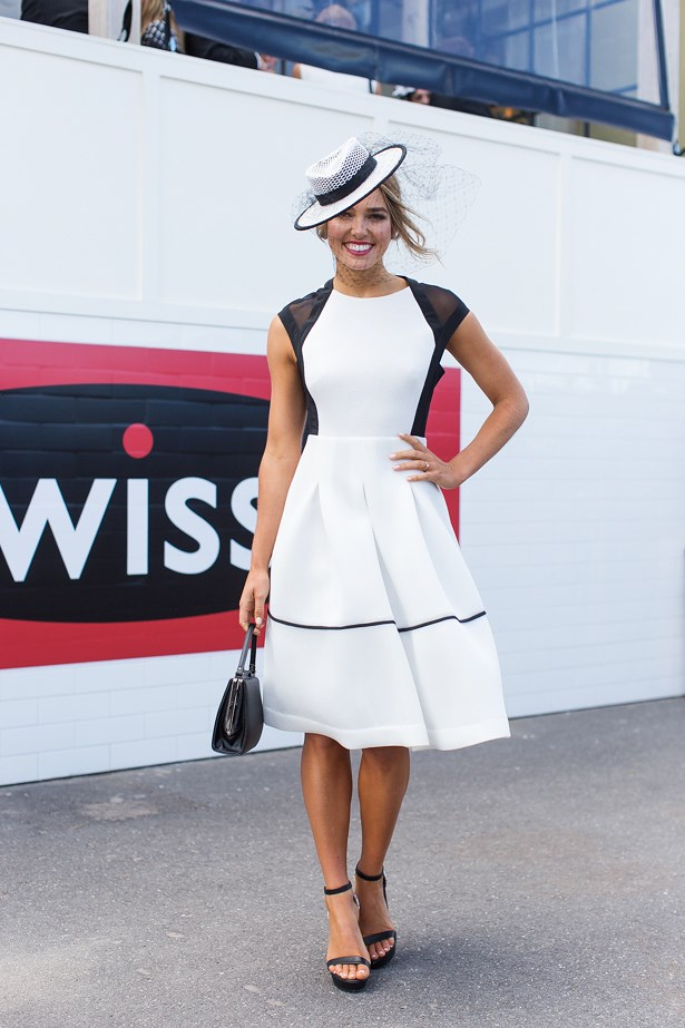 Who: Ashley Hart<br> Event: Derby Day <br> Location: Melbourne <br>