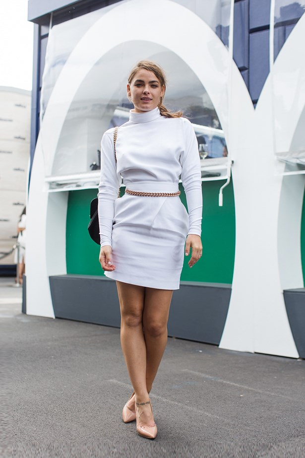 Who: Bambi Northwood-Blyth<br> Event: Derby Day <br> Location: Melbourne <br>